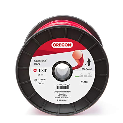 Oregon 23-180 Gatorline 3-Pound Spool of .08-Inch Professional Round String...