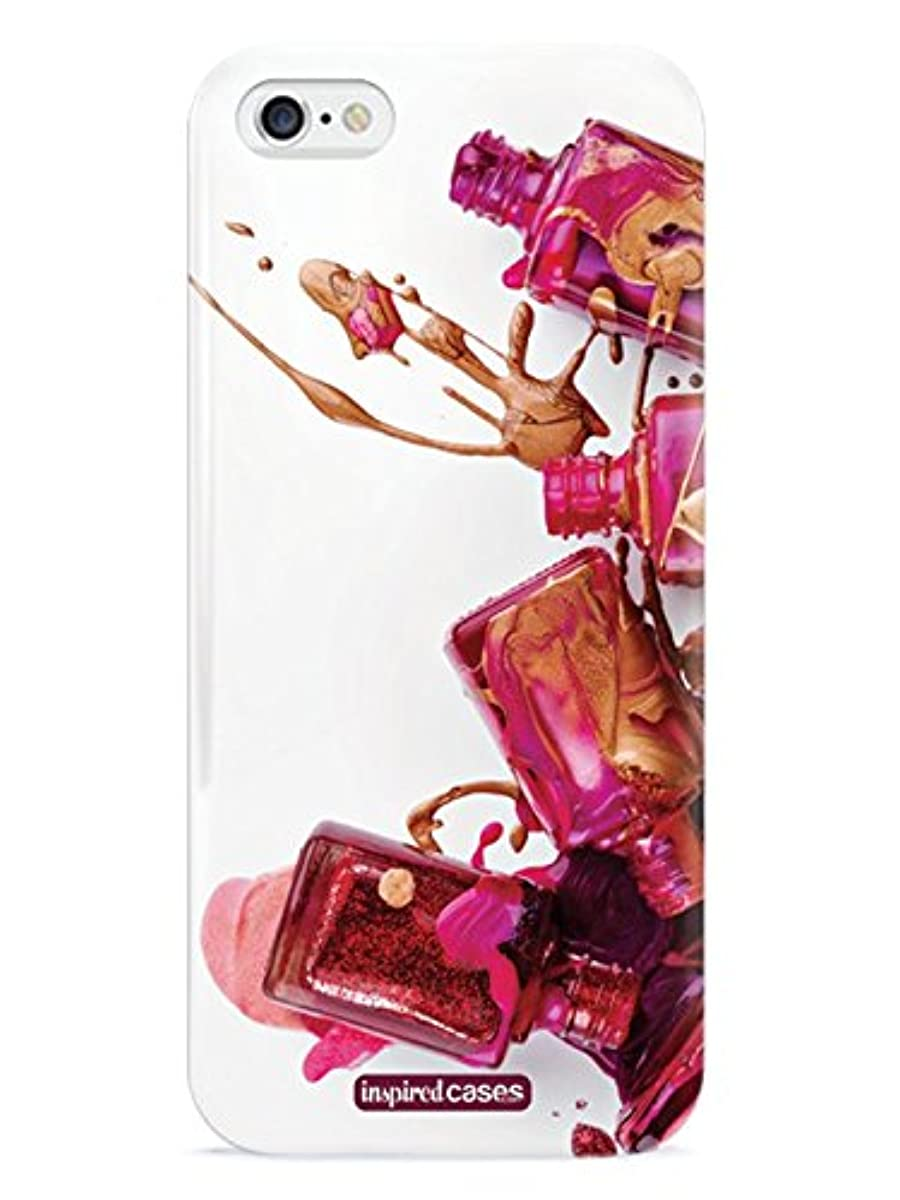 Inspired Cases 3D Textured Nail Polish Splash Case for Manicurist Nail Tech iPhone 6