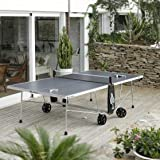 Table de Ping Pong 100S CROSSOVER OUTDOOR- Gris