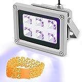 Vogvigo UV Resina Lámpara,Luz de Curado de Resina UV de 405 nm para SLA/DLP/Impresora 3D,Adecuado pa...