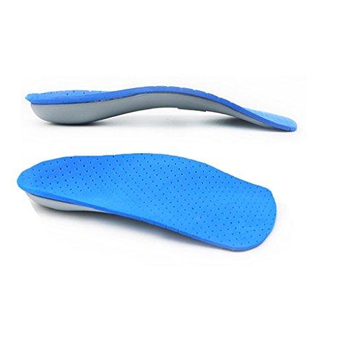 Sharplace Bogen Stützenschuhe Einlegesohlen O-Typ & X Typ Bein Korrektor Orthesen Schuh-Einlegesohlen - M