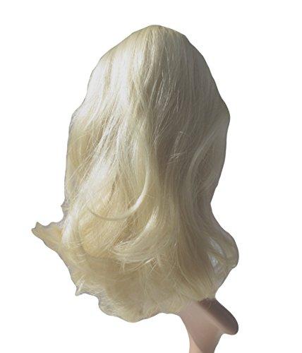 VANESSA GREY Queue de Cheval Ponytail Toutes les couleurs disponibles, L'extension De Cheveux Extra Longue Et Volumineuse Postiche 30 Blonds Clairs