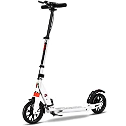Adjustable Height Handlebar Scooters