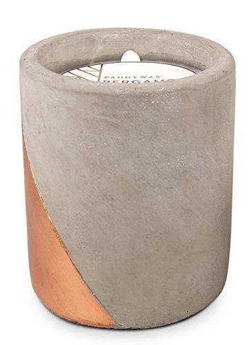 Paddywax Urban Collection - Candela profumata, 340 g, Bergamotto + Mogano