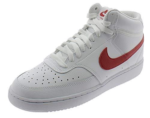 NIKE Court Vision Mid Zapatos Deportivos para Hombre Blanco CD5466105