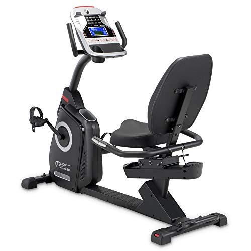CIRCUIT FITNESS Circuit Fitness Magnetic Recumbent Exercise Bike with 15 Programs, 300-lb Capacity AMZ-587R