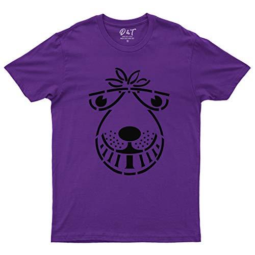 Men's Purple Space Hopper T-shirt, S to XXL