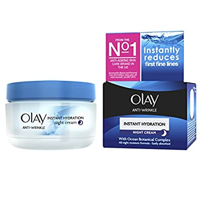 Anti-Wrinkle by Olay Instant Hydration Night Cream Age 30+ 50ml by Procter Gamble