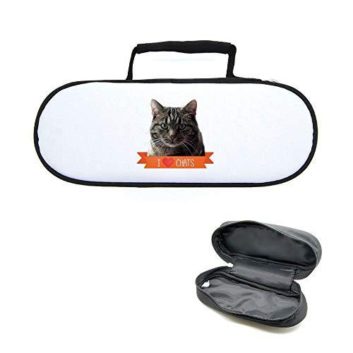 Mygoodprice Tasche für Pétanque-Kugeln, Katze