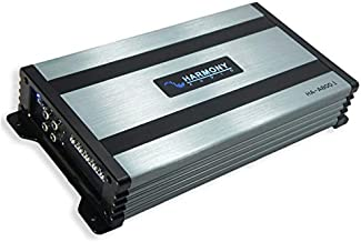 Harmony Audio HA-A800.1 Car Stereo Class D Amp Mono 1600 Watt Subwoofer Amplifier - 1 Ohm Stable - Includes Bass Remote