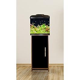 AquaVue Aquarium Nano Fish Tank with Cabinet