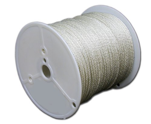 T.W . Evans Cordage 44-120 3/8-Inch Solid Braid Nylon Rope 125-Feet Spool by T.W . Evans Cordage Co.