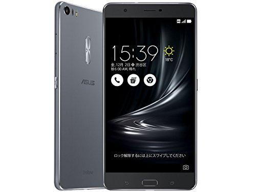 エイスース ZenFone 3 Ultra グレー ZU680KL-GY32S4
