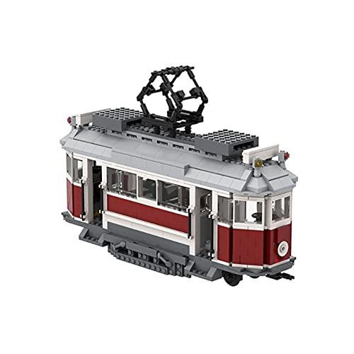 YHYL 1098 PCS Technic Puzzle Toy Retro Tren Eléctrico Modelo Bloques De...