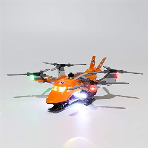 Teakpeak Licht-Set, Klassische Led Beleuchtungsset für Lego, Kompatibel Mit Lego City 60193 Arktis-Frachtflugzeug Modell, Kein Lego Kit