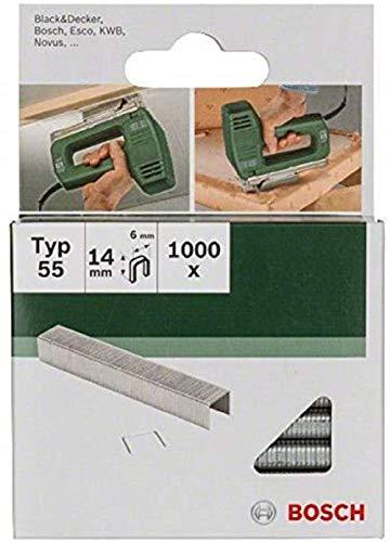 Bosch 2609255826 - Grapas (tamaño: 14mm, pack de 1000)