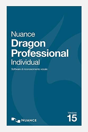 Nuance Dragon Professional Individual 15 - Versione completa | PC | Codice d'attivazione per PC via email