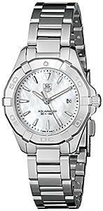 TAG Heuer Women's WAY1412.BA0920 Aquaracer Analog Display Quartz Silver Watch image