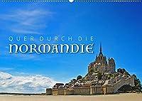 Quer durch die Normandie (Wandkalender 2022 DIN A2 quer): Impressionen aus der Normandie (Monatskalender, 14 Seiten )