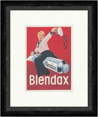 Kunstdruck Blendax Zahnpasta Matrose Werbung Tube Mundhygiene Faks_Plakatwelt 384