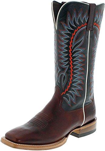 Ariat Relentless Elite 21671 Cognac Sapphire/heren westerrijlaarzen bruin blauw/paardrijlaarzen/Western laarzen