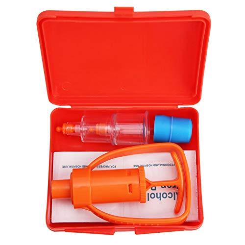 SALALIS Handy Addition Poison Extractor Pomp, para mordeduras de Serpientes, Abejas, picaduras de Avispas y mordeduras