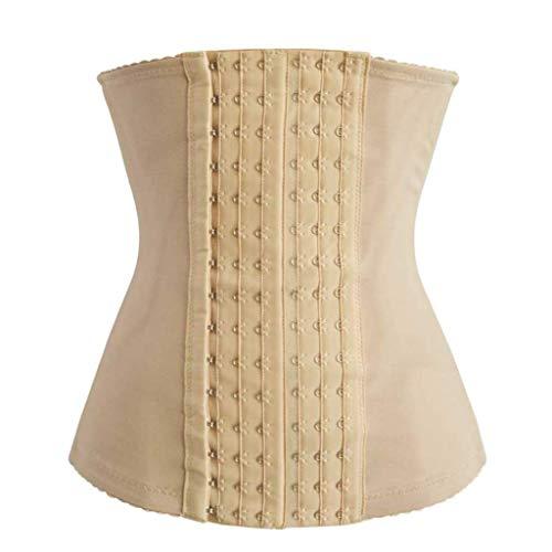 JOYOTER Frauen 6 Row Taille Cincher Stahl ohne Knochen Bauch Control Bustier Long Sanduhr Korsett