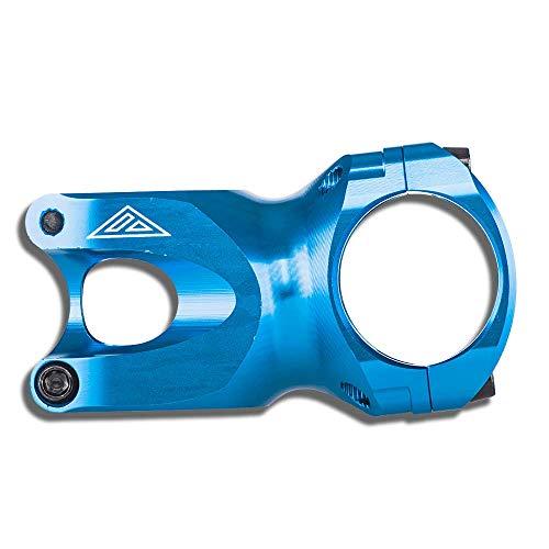 AZONIC PREDATOR MTB Stem blu | Attacco per bicicletta con diametro 31,8mm | Attacco MTB in alluminio 6061 T6 | Adatto solo per XC e All Mountain Bikes