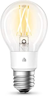 TP-Link KL50 KL50(UN) TP-Link Kasa Filament Smart Bulb, Soft White, No Hub Required, E27 Lamp Base, Control from Anywhere,...