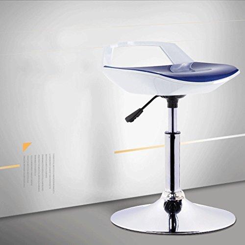 Taburete de bar SAP- Silla de elevación Silla de Comedor giratoria con Respaldo con reposabrazos Silla de Asiento Informal Durable (Color : A)