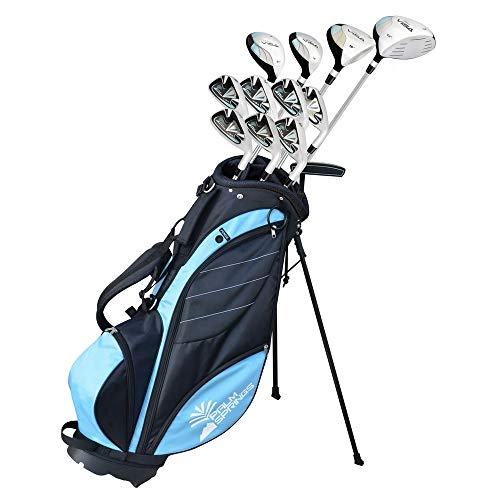 Palm Springs Golf Visa Lady All Graphite Hybrid Club Set & Stand Bag