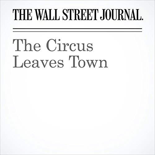 The Circus Leaves Town copertina