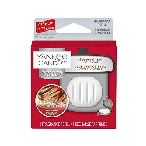 YANKEE CANDLE Sparkling Cinnamon Refill Char Profumatore per Auto, Multicolore, Unica
