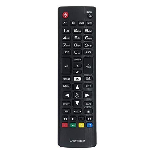 Myhgrc Ersatz-Fernbedienung für LG AKB74915324, für LG TV Smart LCD LED 32LH604V 40UH630V 49UH68V 55UH605V 50UH635V 65UH625V – keine Konfiguration erforderlich – Universal-Fernbedienung LG