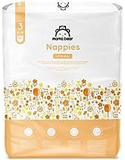Amazon-merk - Mama Bear - 86 Ultra Dry Luiers - Maat 3 (4-9 kg) - Nieuwe versie (1 pak x 86)