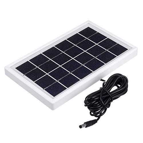 ExcLent 5W 6V Solarpanel Mit Dc 3M-Kabel Mehrzweck-Solarpanel Zur Überwachung Der Straßenbeleuchtung