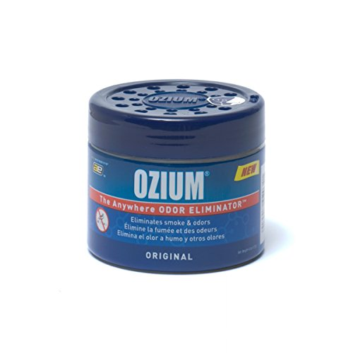 Ozium 804281 Blue 4.5 Ounce Smoke & Odors Eliminator Gel, Original Scent