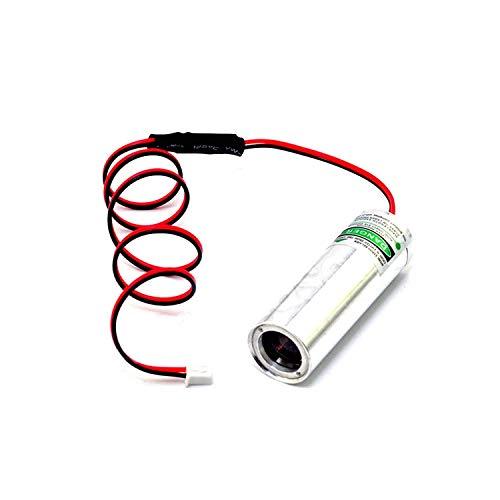 3.6-4.2V Haz de grasa 532nm 50mW Módulo de punto láser de diodo verde para Bar KTV Laser