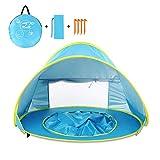 MXYPF Baby Beach Pool Tent, Sun-Shelter Impermeable con ProteccióN UV PortáTil, NiñOs Que Viajan Al Aire Libre Camping Play House Pop Up Tent