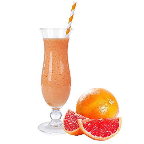 Grapefruit Molkepulver Luxofit mit L-Carnitin Protein angereichert Wellnessdrink Aspartamfrei Molke (333 g)