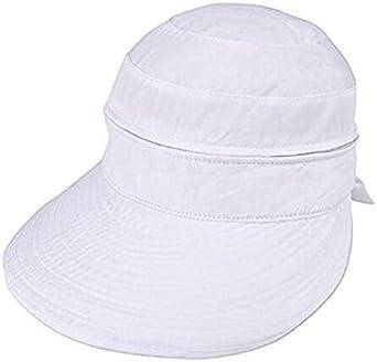FZAY Visor Hats Wide Brim Cap UV Protection Summer Sun Hats for Women