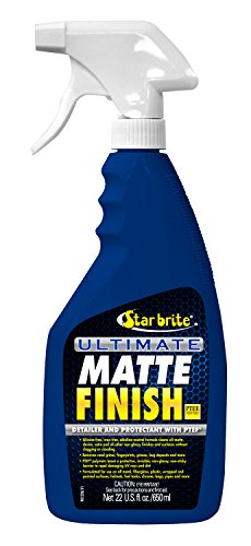 Star brite Ultimate Matte Finish w/PTEF – Cleaner, Detailer & Protectant - 22 oz Spray