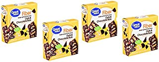 Great Value Fiber Bars, Oats & Chocolate Bars, 1.4 oz, 5 Count, pack of 4