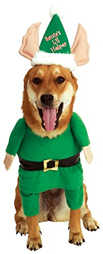 Rubie's Santa's Little Helper Elf Pet Costume, Small