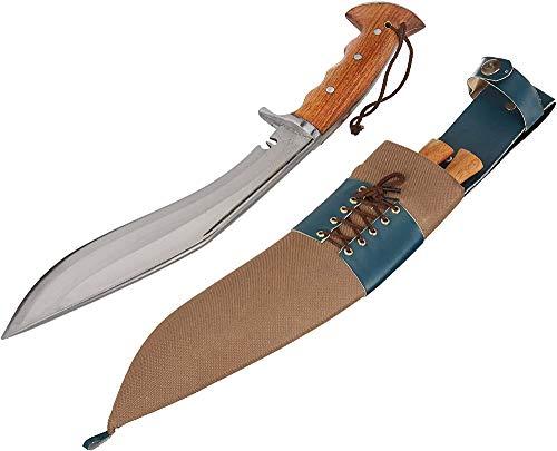 EGKH Traditional Kukri - Authentic British Gurkha Iraqi Operation Gripper Blocker Handle Khukuri -...
