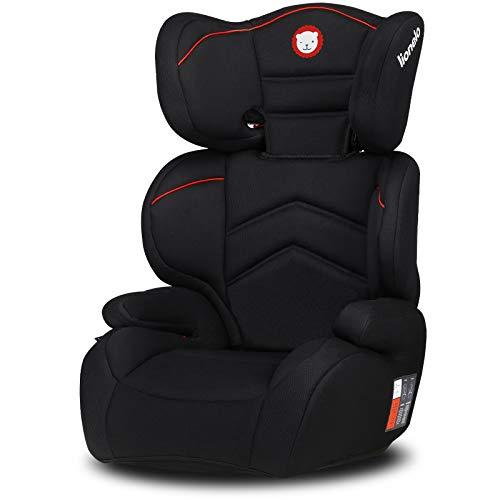 Lionelo Lars Kindersitz 15-36 kg Kindersitzerhöhung 15-36 kg Gruppe 2 3 verstärkte Kopfstütze Seitenschutz tiefe Sitzfläche ImpactGuard Konstruktion ECE R44 04