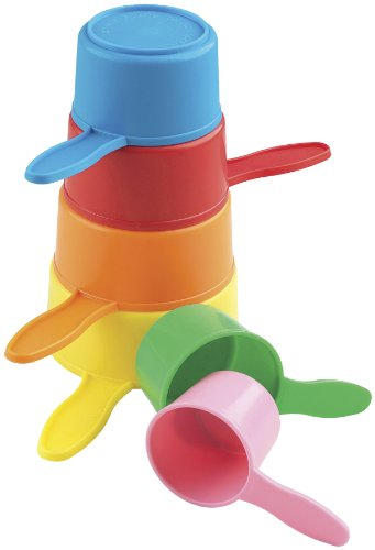 Cadson Little Ones stapelspel, van kunststof speelgoed