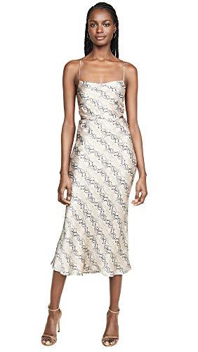 Price comparison product image Bec & Bridge Women's Python Midi Dress,  Snake Skin Print,  10