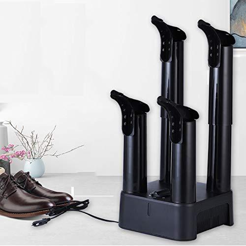 GJQGYY Secador Calzado y Guantes de Alto Rendimiento,secador de Botas y Zapatos y desodorizador con Calor y Ventilador de Alto Rendimiento (Color: Negro)