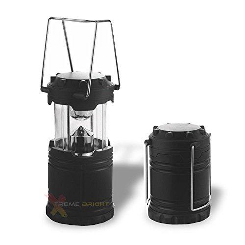 Xtreme Heldere LED Camping Lantaarn – Een Ultra Heldere Zaklamp Met Volledig Inklapbaar Ontwerp, 7 LED Lampen, 360 Graden Krachtige Verlichting, Vedergewicht Robuuste Bouw